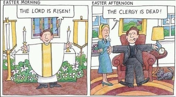 clergy dead after Easter