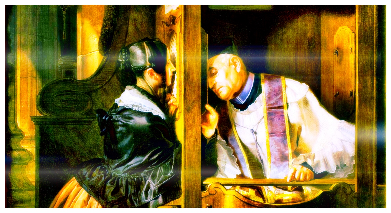 Molteni Giuseppe, La confessione