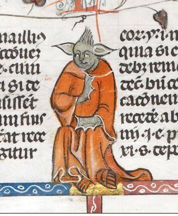 """Medeltida """"Yoda"""""""