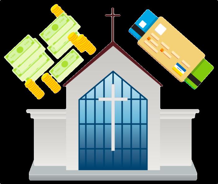En kyrka och pengar